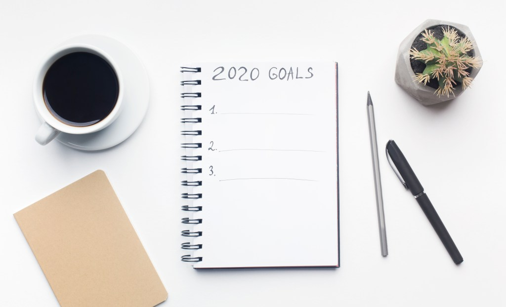 Make a list for your content marketing goals