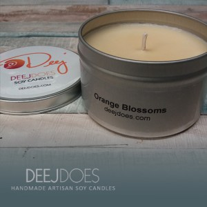 Orange Blossoms Soy Candle by DEEJ DOES