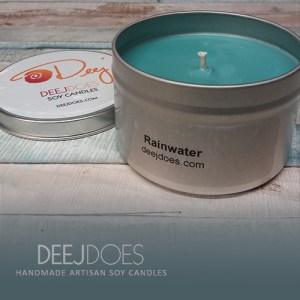 Rainwater Soy Candle by DEEJ DOES