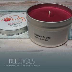 Spiced Apple Soy Candle by DEEJ DOES