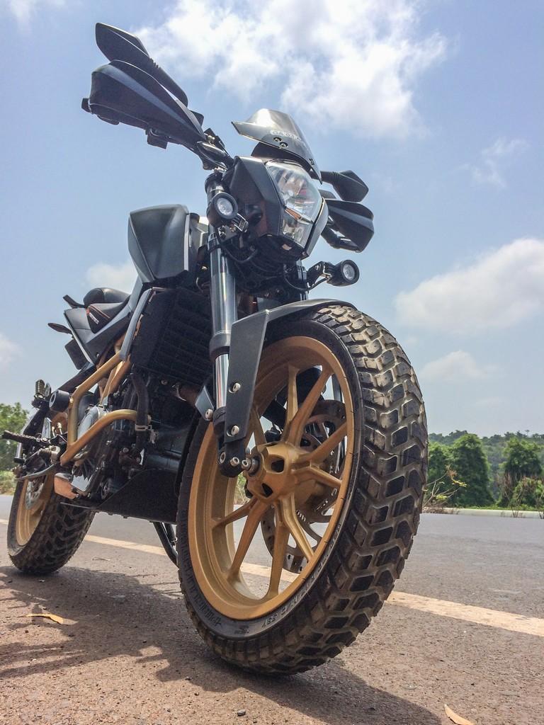 Project Ktm 390 Adventure Tyres Deelip Menezes