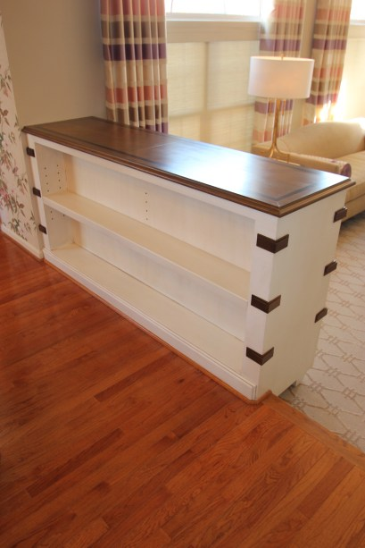 faux wood with inlay