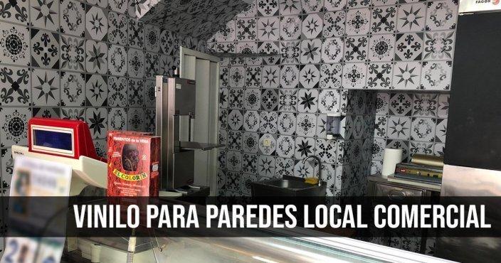 VINILO PARA PAREDES LOCAL COMERCIAL