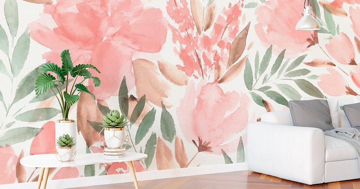 Papel pintado para paredes