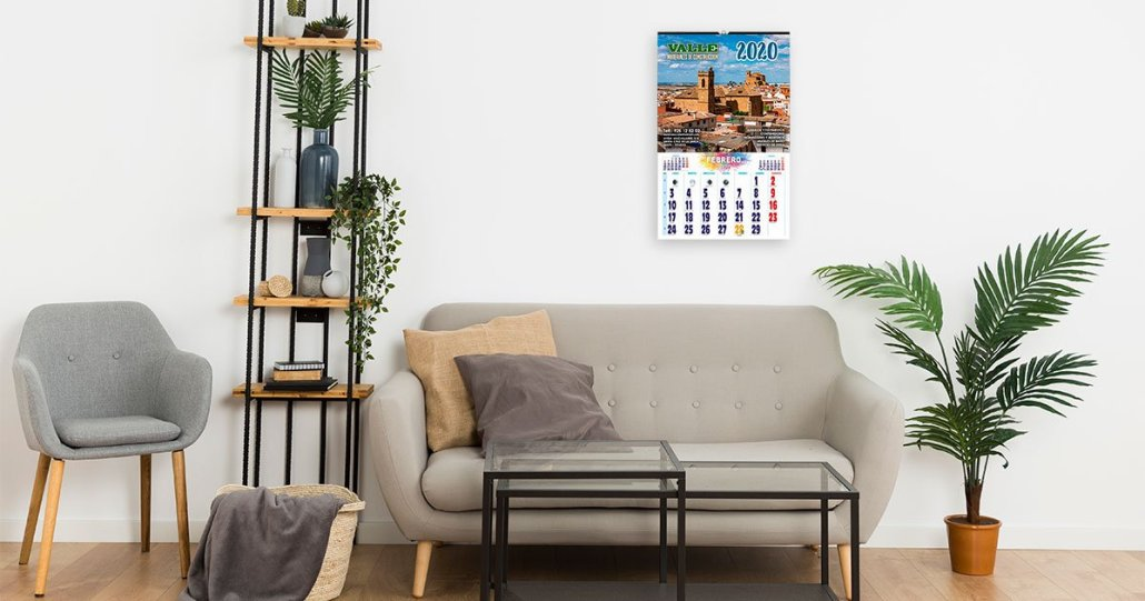 Calendarios personalizados el valle