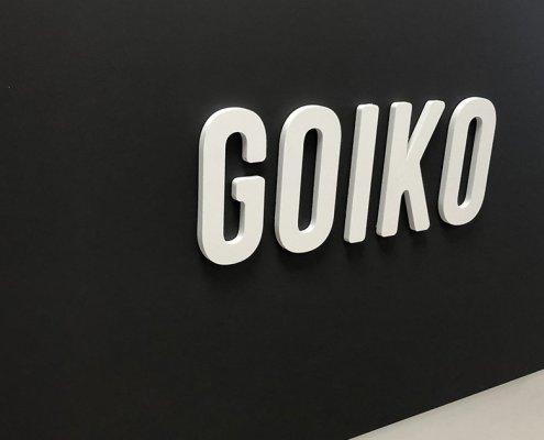 Rotulación integral oficinas Goiko