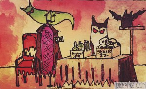 Dracula's Yardsale