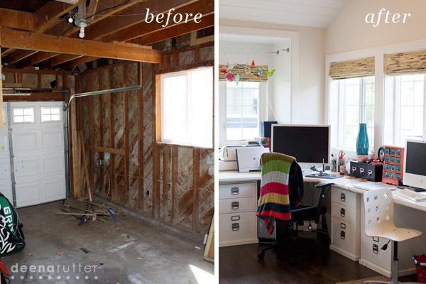 Deena Rutter Home Tour Part 1 Garage Conversion to Home