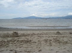Castles in the sand, Vancouver