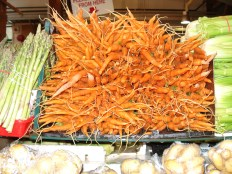 Funky carrots, Granville Island, Vancouver