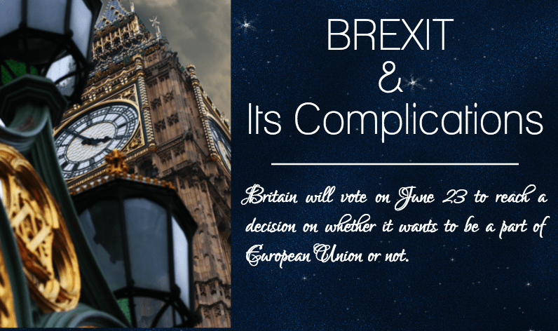 Brexit and its complications