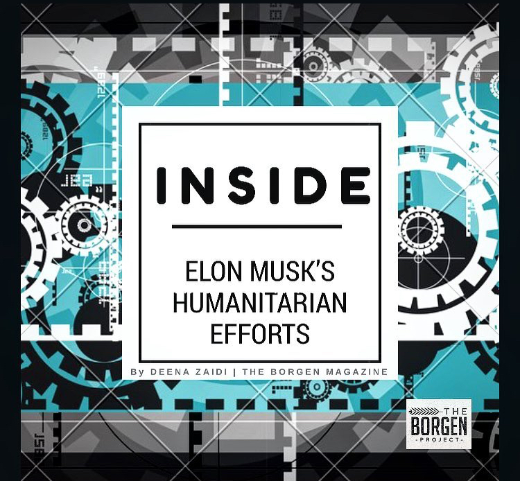 Inside Elon Musk's Humanitarian Efforts