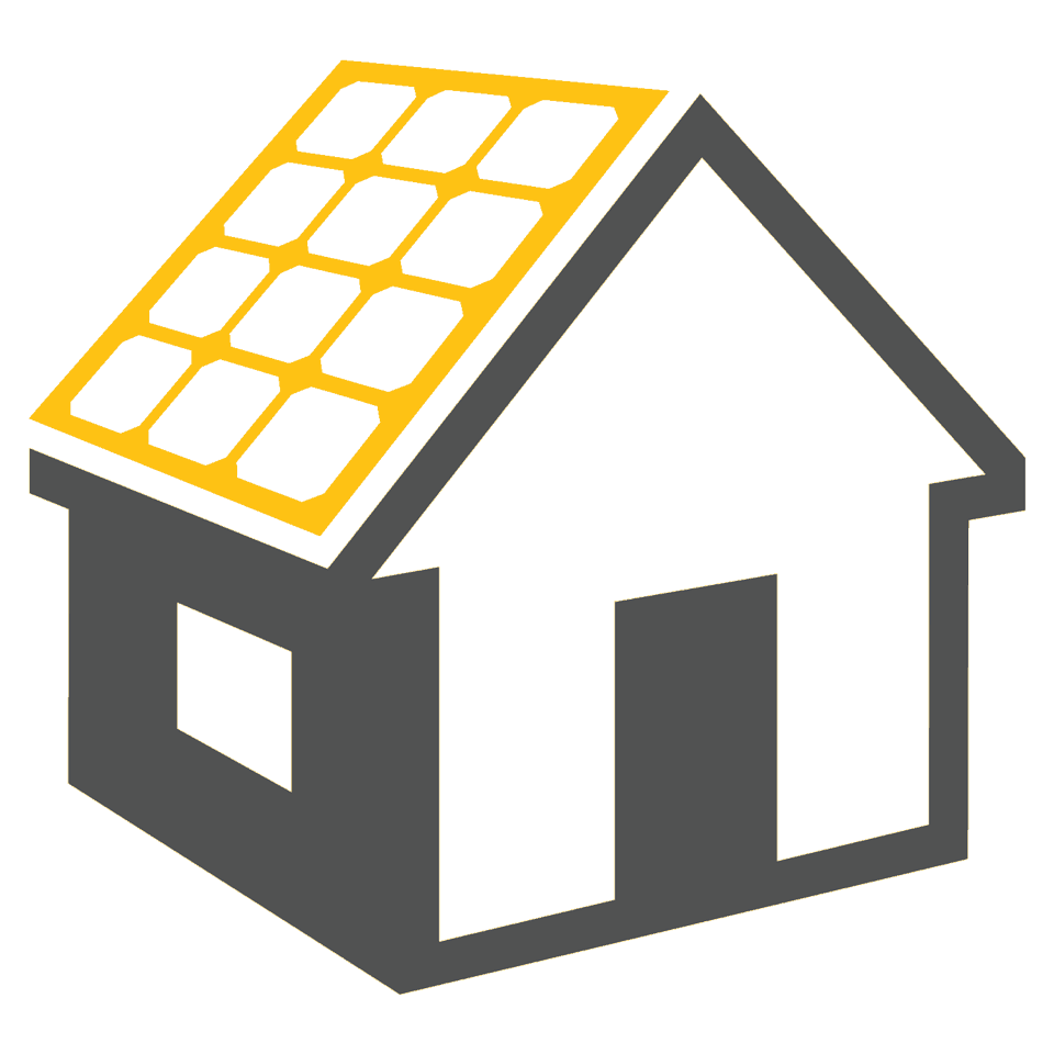 house with inverter