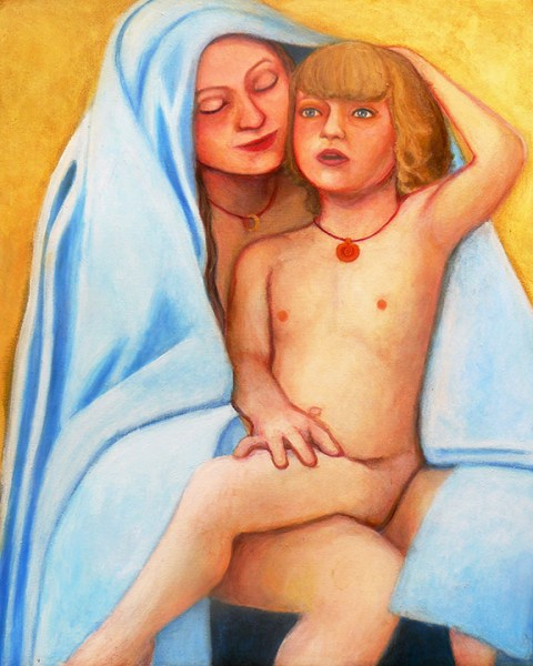 Mary embodies love and honors the mothering spirit in duty and sacrifice.