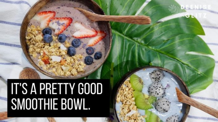 Pretty Good Smoothie Bowl: Smoothie Bowls Under $5!
