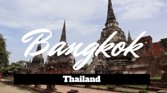 Rediscovering the Historical side of Bangkok, Thailand