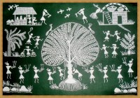 Warli Painting On Wall | www.pixshark.com - Images ...