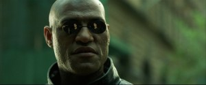 Laurence Fishburne in The Matrix