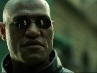 Laurence Fishburne in The Matrix