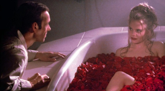 Kevin Spacey and Mena Suvari in American Beauty