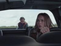 Raffey Cassidy and Britt Robertson in Tomorrowland