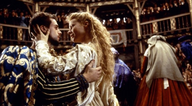 Joseph Fiennes and Gwyneth Paltrow in Shakespeare in Love