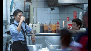 Tony Leung and Faye Wong in Chungking Express