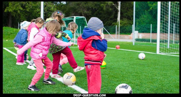 Kids playing some sports