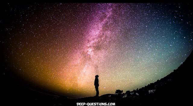 universe deep questions