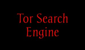 Tor Search Engine – How to use Tor Search Engine
