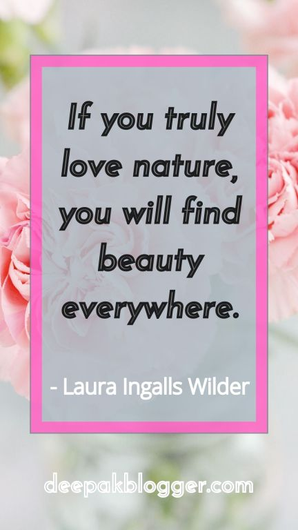 Nature Quotes, Beauty of Nature Quotes