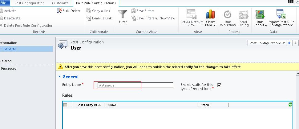 Activity Feed in CRM 2011 (3/6)