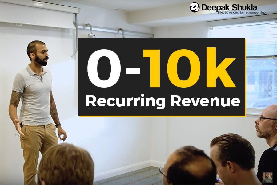 Recurring Revenue by Deepak Shukla