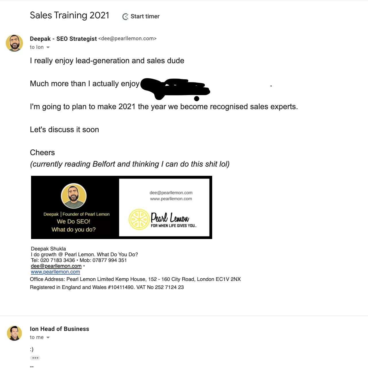 sales traing 2021