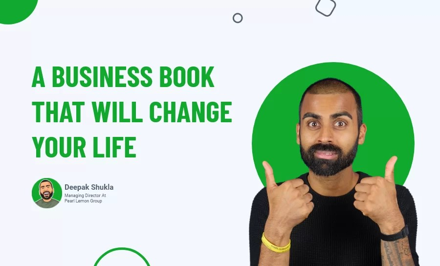 A Business Book That Will Change Your Life