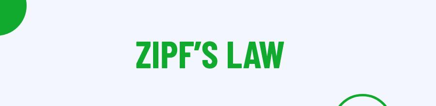 ZIPF Law