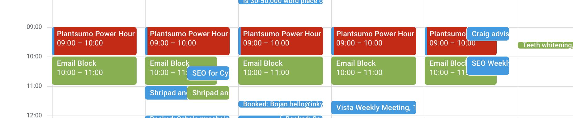 Plantsumo Power Hour