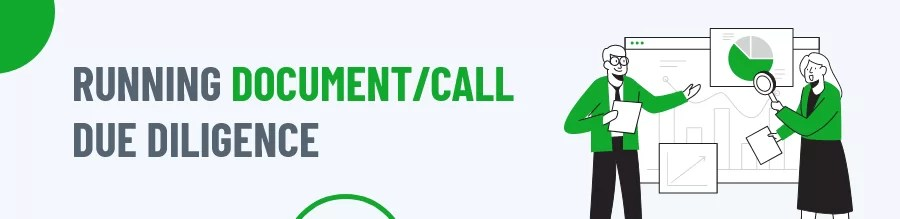 Running Document/Call Due Diligence