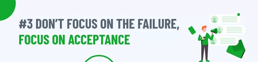 Rule 3 of Coping With Failure