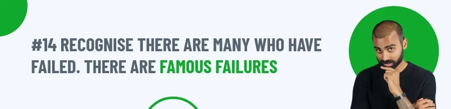 Rule 14 of Coping With Failure