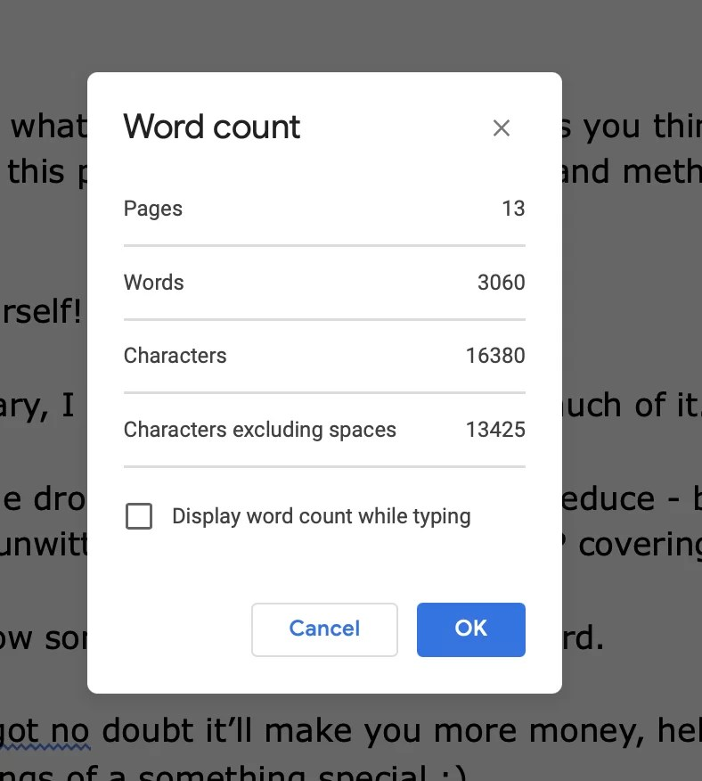 Word Count of succession planning model