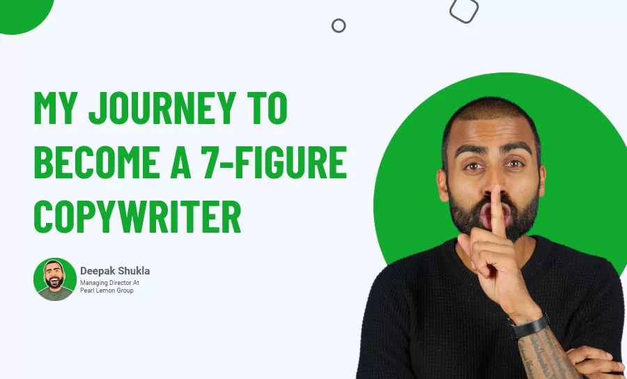 My Journey to Become a 7-Figure Copywriter