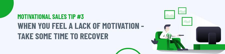 Lack of Motivation