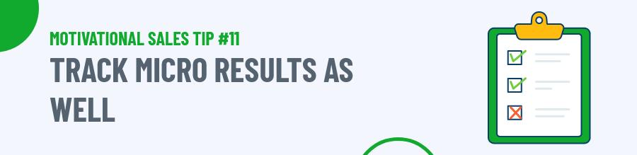 Track Micro Results