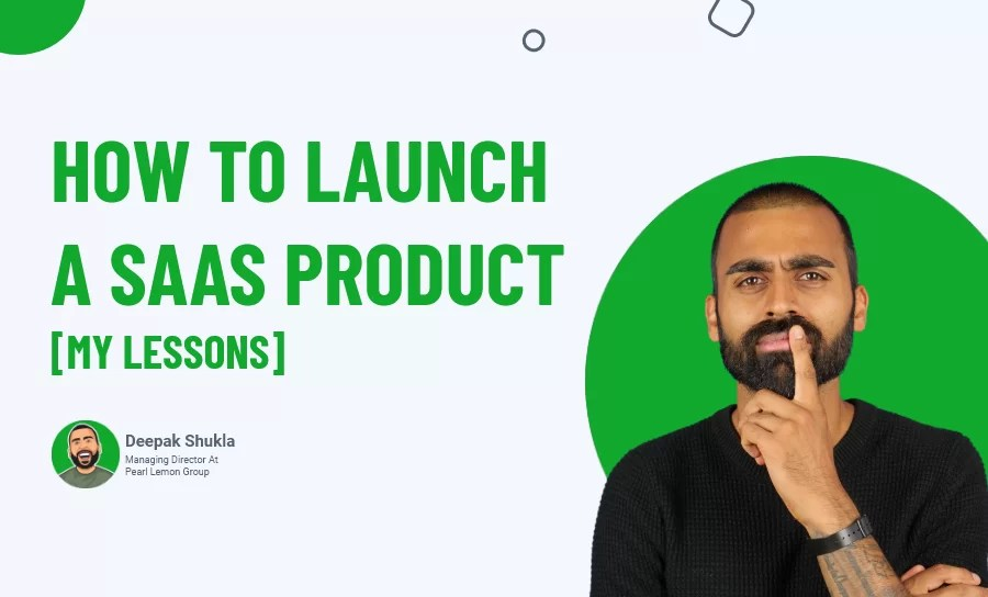 launch saas product