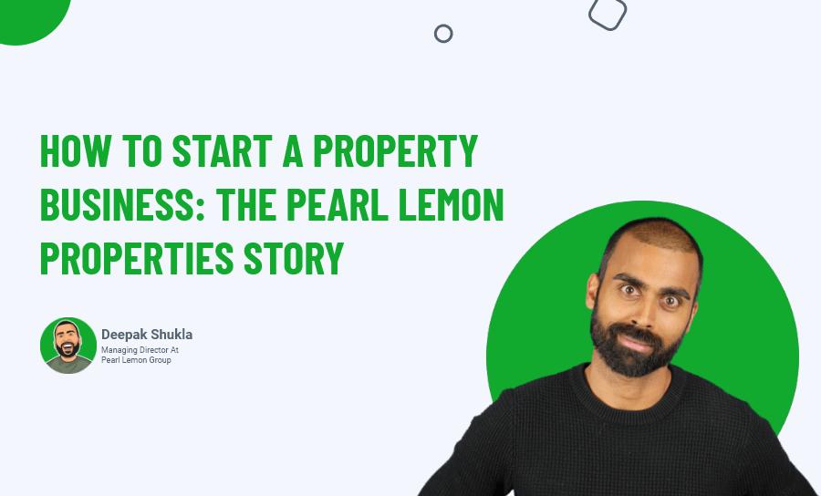 start a property business