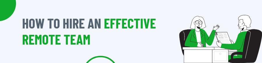 Effective Remote Team