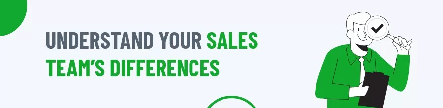 Sales Team's Differences