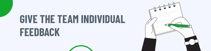 Individual Feedback