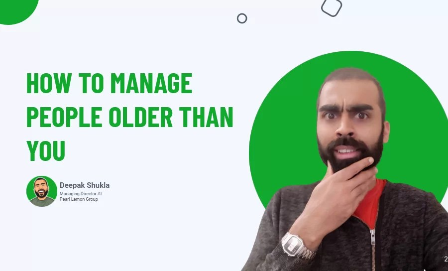 Manage People Older Than You